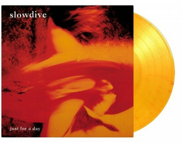 Slowdive ‎– Just For A Day.    (Vinyl, LP, Album, Limited Edition, Numbered,  Orange [Flaming], 180 Gram)