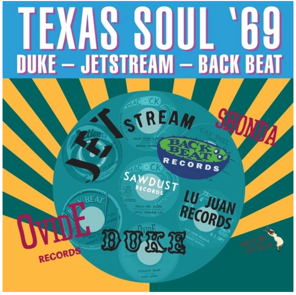 RSD2020   Various Artists - Texas Soul '69     (LP, Album, Vinyl, limited to 500, indie exclusive). AVAILABLE IN STORE ONLY 29-8-20