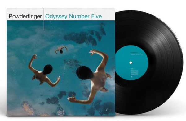 Powderfinger ‎– Odyssey Number Five.   (2 × Vinyl, LP)