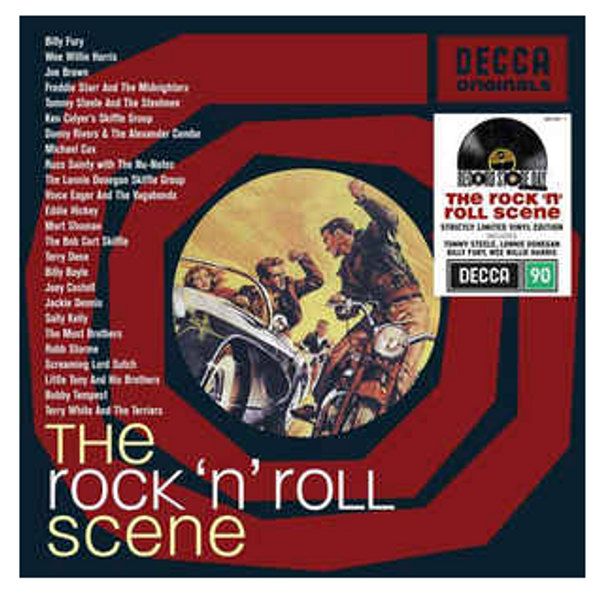 RSD 2020. Various – The Rock 'N' Roll Scene.   (2 × Vinyl, LP, Limited Edition). AVAILABLE IN STORE ONLY 26-9-20