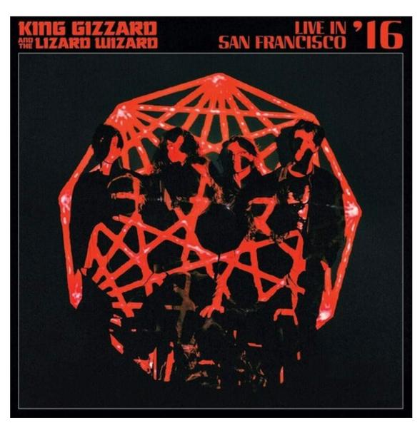 King Gizzard And The Lizard Wizard – Live In San Francisco '16.    (Vinyl, LP, Randomly Coloured)