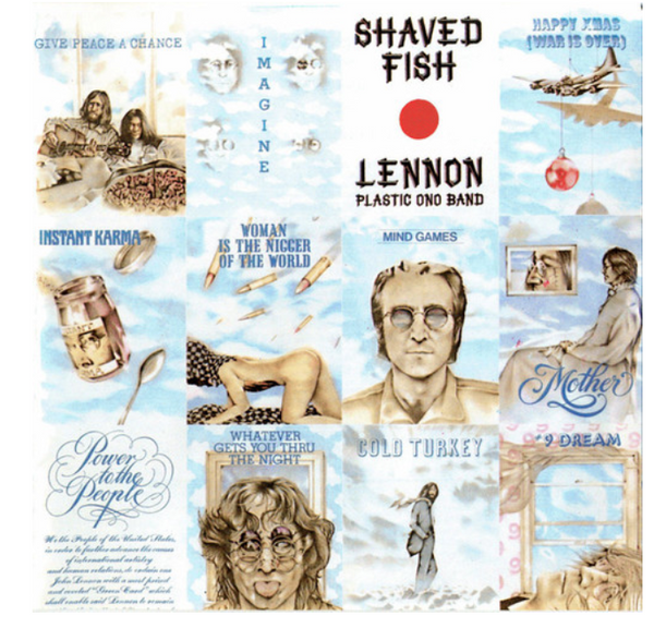 Lennon / Plastic Ono Band ‎– Shaved Fish     (Vinyl, LP, Compilation,  180g)
