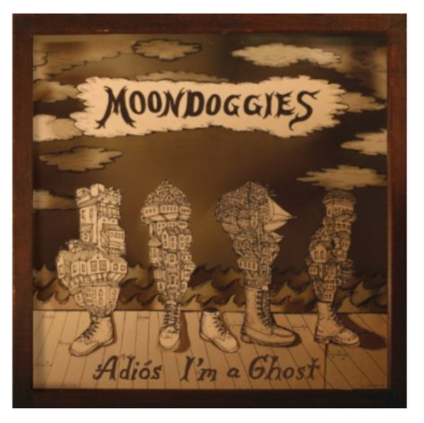 The Moondoggies ‎– Adiós I'm A Ghost.   (Vinyl, LP, Album)