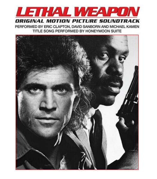 Lethal Weapon (Original Motion Picture Soundtrack).    (Vinyl, LP, Album, Reissue, Clear)