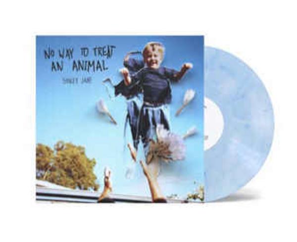 """Spacey Jane – No Way to Treat an Animal.    ( Vinyl, 10"""", 45 RPM, EP,  Blue & White Marbled)"""