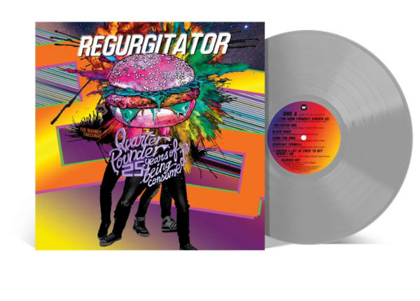 Regurgitator ‎– Quarter Pounder: 25 Years Of Being Consumed! - The Warner Takeaway.    ( Vinyl, LP, Compilation, Silver)