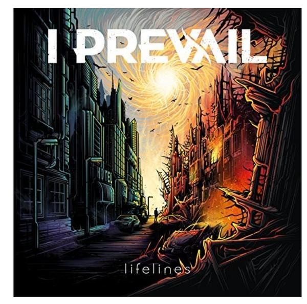 I Prevail – Lifelines.   (Vinyl, LP, Limited Edition, White, Purple, Green, Seafoam)