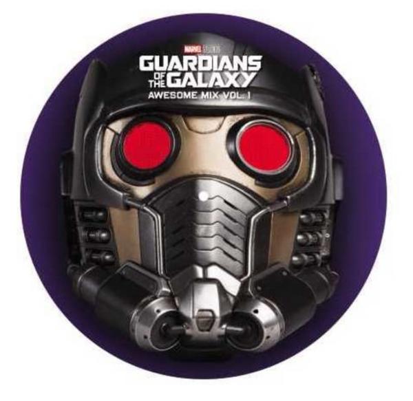 Guardians Of The Galaxy: Awesome Mix Vol. 1 - Original Motion Picture Soundtrack.   (Vinyl, LP, Album, Picture Disc)
