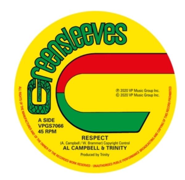 "Al Campbell & Trinity – Respect.   (Vinyl, 12"", 45 RPM).   ("