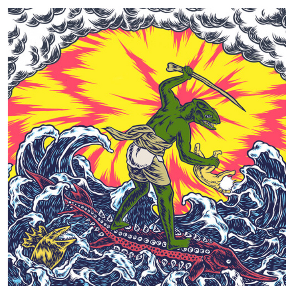 King Gizzard & The Lizard Wizard – Teenage Gizzard.   (Vinyl, LP, Compilation, Limited Edition, Yellow, 140g)