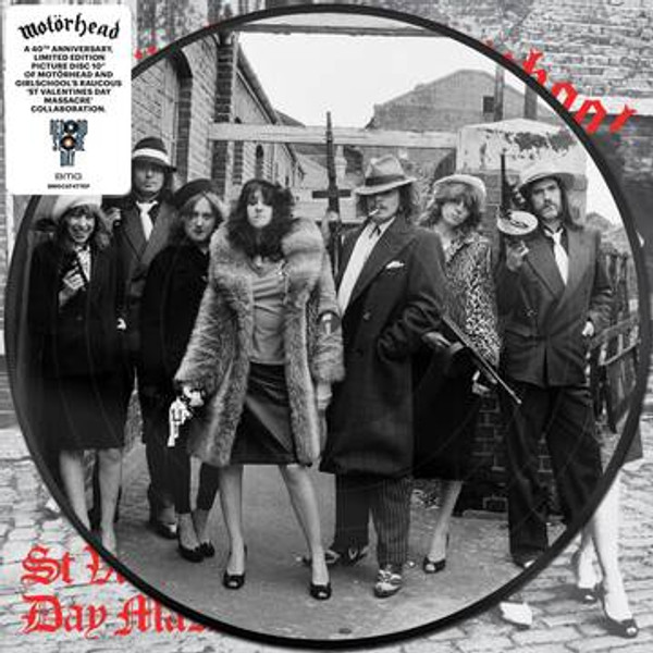 "RSD2021 Motorhead - St. Valentine's Day Massacre (Vinyl, 10"" Single, Limited Edition, Picture Disc)"