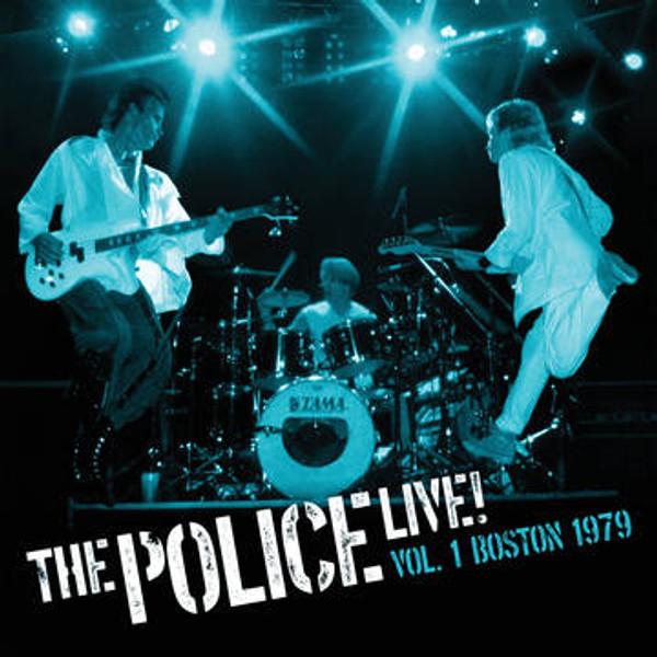 RSD2021 The Police - Live Vol. 1: Boston 1979 (2 x Vinyl, LP, Album, Limited Edition, Blue)