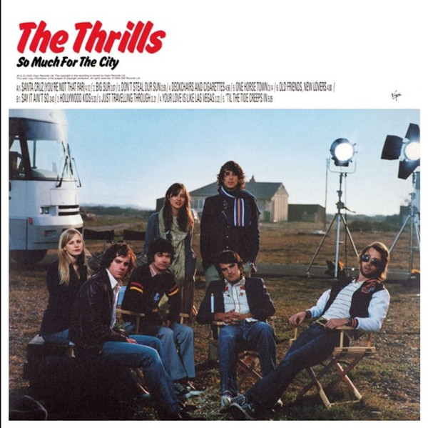 RSD2021 The Thrills - So Much for the City (Vinyl, LP, Album, Limited Edition, Red)