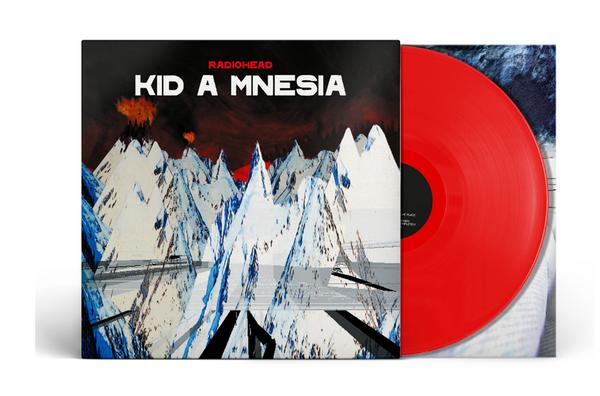 Radiohead - KID A MNESIA.   (3x, Vinyl, LP, Album, Red)