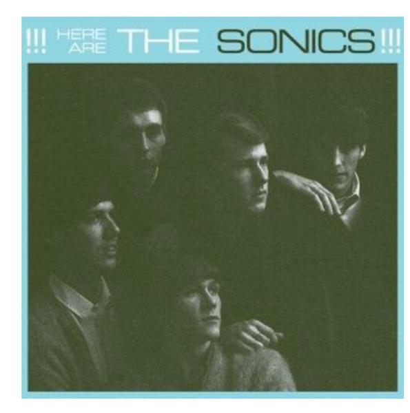 The Sonics – Here Are The Sonics!!!    (Vinyl, LP, Album)