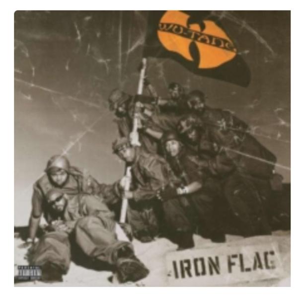 Wu-Tang Clan – Iron Flag.   (2 x Vinyl, LP, Album, 180 Gram)