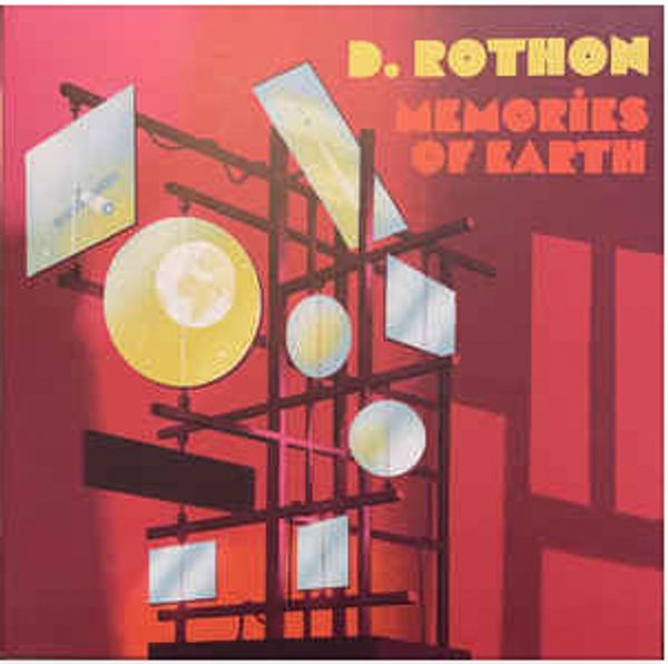 D. Rothon – Memories Of Earth.  ( Vinyl, LP, Album, Limited Edition, Stereo, Orange)
