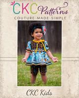 Savannah's Dress and Tunic Sizes 6/12m to 8 Kids PDF Pattern