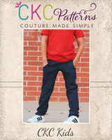 Ryker's Woven Skinny Pants Sizes 2T to 14 Kids PDF Pattern