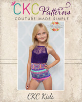 Lenora's Lace 3-in-1 Sizes 2T to 8 Kids PDF Pattern
