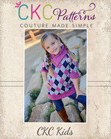 Sheridan's Sweater Dress and Top Sizes 6/12m to 15/16 Kids PDF Pattern
