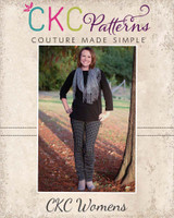 Risa's Ruched Bow Leggings Sizes XS to XL Adults PDF Pattern