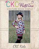 Vada's Bubble Tunic/Dress Sizes NB to 15/16 Kids and Dolls PDF Pattern