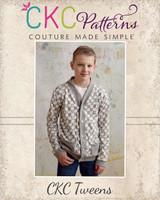 Elijah's Tween Cardigan PDF Pattern