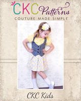 Stormy's Skater Skirt Sizes 6/12m to 15/16 Kids and Dolls PDF Pattern