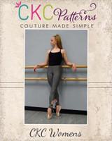 Carmen's Dance Capris Sizes XS to XL Adults PDF Pattern