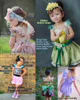 Bexley's Beautiful Bubble Romper Sizes NB to 8 Kids PDF Pattern