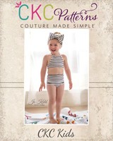 Olive's Old Fashioned Bikini Sizes NB to 14 Kids and Dolls PDF Pattern