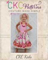 Harmony's Twirly Lace Skirt Sizes 6/12m to 15/16 Kids PDF Pattern