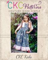 Helen's Maxi Dress Sizes 12/18m to 15/16 Kids PDF Pattern