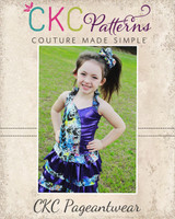 Gracelynn's Colorblock Pageant Bodice PDF Pattern