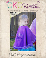 Morgan's Makeup Cape PDF Pattern