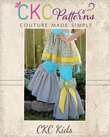 Juniper's Ruffled Bell Bottoms Sizes 6/12m to 8 Kids PDF Pattern