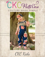 Zyrina's Harem Romper Sizes NB to 8 Kids PDF Pattern