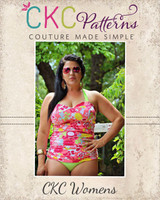 Xiomara's Bikini and Ruched Tankini Sizes XS to XL Adults PDF Pattern