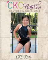 Ingrid's Incredible Leotard Sizes 2T to 15/16 Kids PDF Pattern