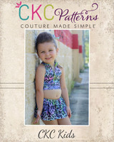 Skipper's Zipper Top Sizes 2T to 14 Kids PDF Pattern
