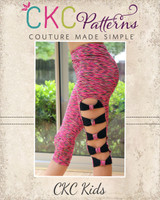 Barbie's Barre Leggings Sizes 2T to 14 Kids PDF Pattern