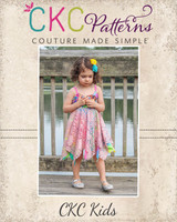 Harlyn's Knit Star Dress Sizes 2T to 14 Kids PDF Pattern