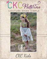 Gypsy's Boho Dress and Top Sizes NB to 14 Kids PDF Pattern