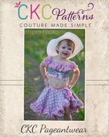 Peach's Reversible Tear-Away Skirt PDF Pattern