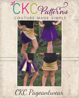 Spirit's Parade and Cheer Skirts Sizes 2T to 14 Kids PDF Pattern