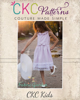 Diana's Vintage Dress Sizes 2T to 14 Kids PDF Pattern