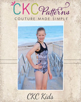 Ohanna's Open Back Leotard Sizes 2T to 14 Kids PDF Pattern