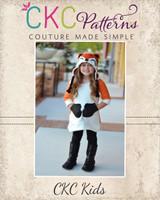 Miracle's Mitten Pocket Tunic Sizes 2T to 14 Kids PDF Pattern