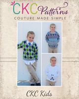York's Sweater Sizes 2T to 14 Kids PDF Pattern